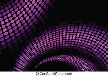 "Vector purple ""snake"" background"