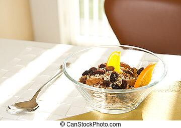 Bowl of muesli