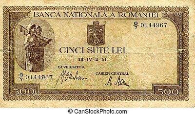 Money of Romania