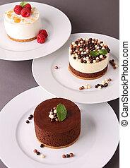 assortment of dessert