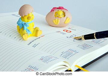 Easter day - Agenda open on Easter Sunday