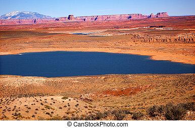 Wahweap Bay Lake Powell Glen Canyon Recreation Area Arizona