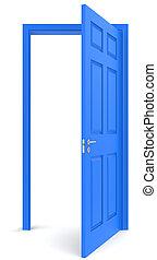 The door.