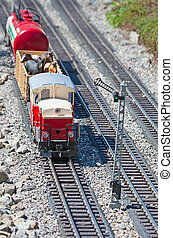 Miniature train - Miniature model of the train