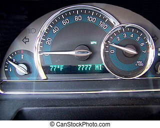 Miles on The Speedometer - This is my speedometer. It is...