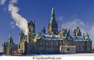 West block Canada - The canadian Parliament West Block...