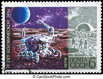 lunokhod, U.R.S.S., hacia,  -,  1972