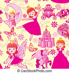 Princess pattern.