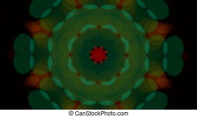 light kaleidoscope effect