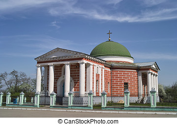 Orthodox church in Liubech, Ukraine