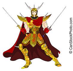 Ouro, guerreira
