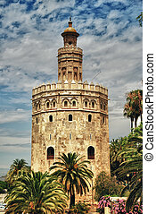 Tower of gold, Seville