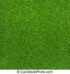 Artificial green grass background - Artificial green grass...