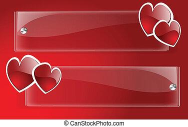 Vector Banner Day Valentine