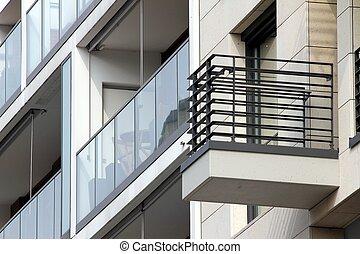 modern building geometry
