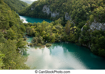Plitvice Lakes National Park - Lower Canyon of Plitvice...