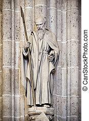 Matthias - An image of the Matthias sculpture in the Church...