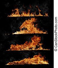 fuego, Colección