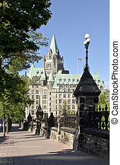 Sunny Confed - The Canadian Parliament Confederation...