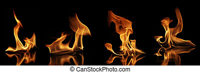Fire collection - High resolution fire collection of soft...