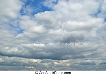 The rain clouds - The heavy rain clouds occupied whole image...