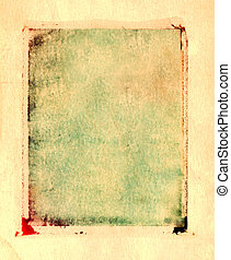 Polaroid Transfer Grunge Border