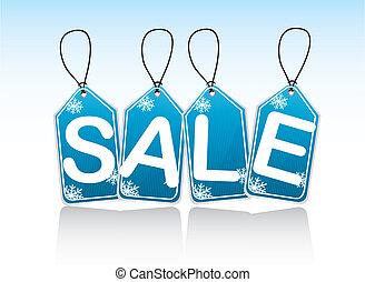 blue tags sale