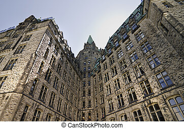 Behind Confed - The canadian Parliament Confederation...