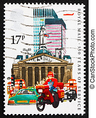Postage stamp GB 1985 Royal Mail Service - GREAT BRITAIN -...
