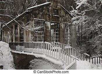 Winter Mill Ruins