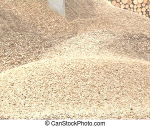 chips cmuble in pile - sawdust, shavings chips crumble to...