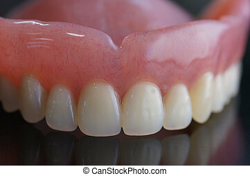 full denture - removable full denture made by resin
