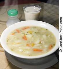 pasta soup typical food Colombia South America
