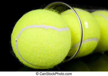 Can of Three New Tennis Balls