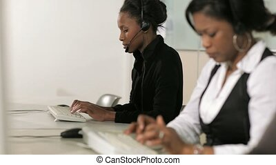 Call Center, Female Receptionists
