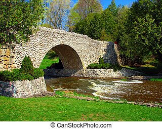 Bridge - Websters falls