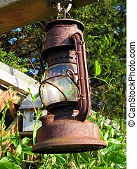 Old Kerosene lamp - Old lamp