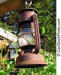 Old Kerosene lamp - Old lamp