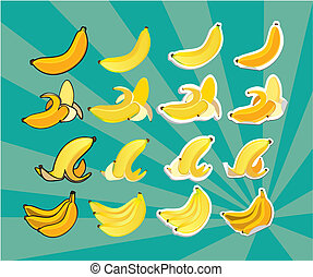 complete set of bananas - set contains: bananas in bunch,...