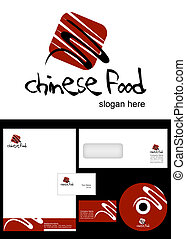 Chinese Food Logo Design and corporate identity package...