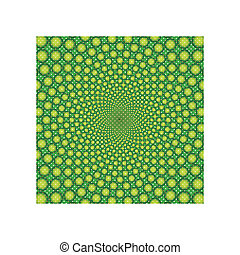 cyclic optical illusion-Vector EPS - cyclic optical illusion...