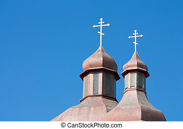 Church steeples Sarnia - Beautiful Cupolas of the Ukranian...