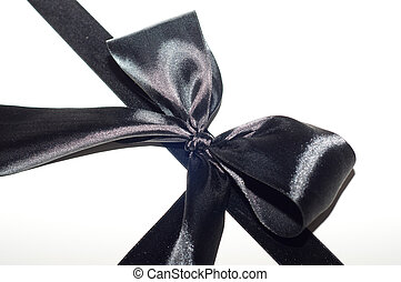 mourning black tape - the mourning black tape is tied in the...