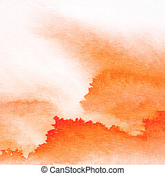 Abstract Water Color