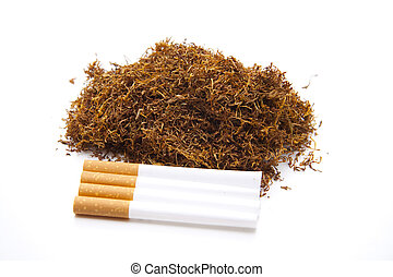 Tobacco for cigarets and whistle