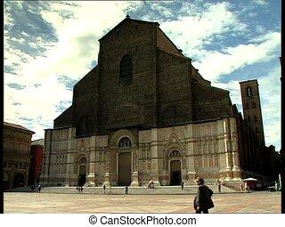 BOLOGNA piazza maggiore - Piazza Maggiore and St. Petronio...
