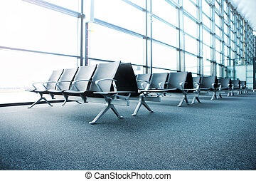 Departure lounge - A picture of a brand new departure lounge...