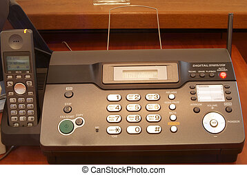 table for fax machine