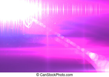Lens flare abstract background Asymmetric light rays