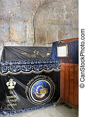 Tomb of King David, Jerusalem.women's prayer section